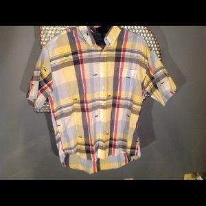 Tommy Hilfiger short sleeve button up shirt
